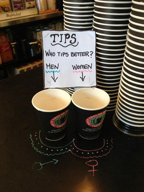 Who tips better – men or women?