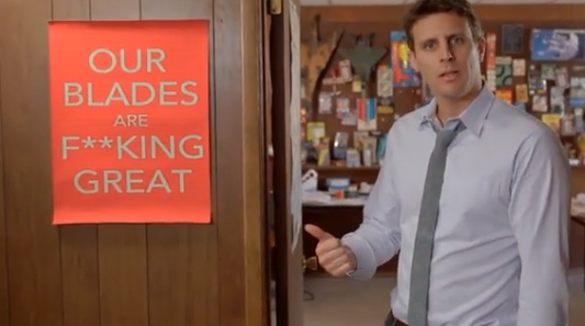 Dollar Shave Club's Irreverent F***ING Great ad