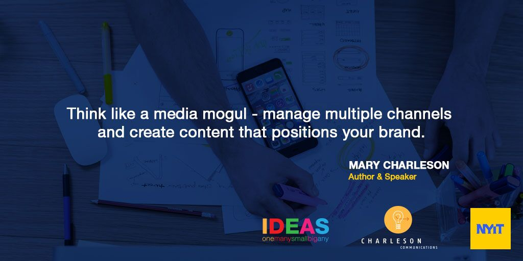 Leverage your content like a MEDIA MOGUL