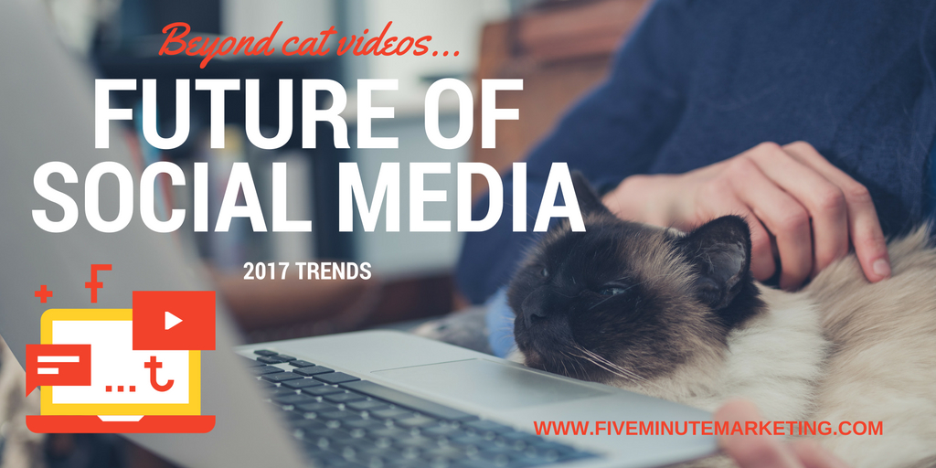 The future of social media: 4 trends to watch in 2017