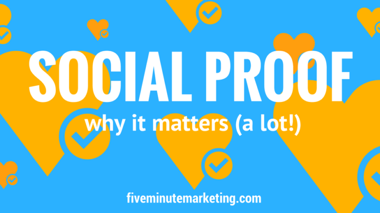 Social proof and your media