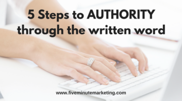5 Steps to gaining authority through embedded media