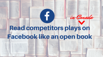Read competitors plays on Facebook like an open book