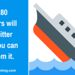 Why 280 characters will sink Twitter + 3 lessons from this to apply to your business